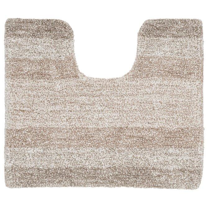 Wc Mat Sealskin.Sealskin Brilliance Toilet Mat Oslo Polyester 60x50 Sand